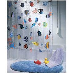 Spirella Fish Peva Clear Plastic Shower Curtain, the Swis... https://smile.amazon.com/dp/B00C9QD7OE/ref=cm_sw_r_pi_dp_x_h36CybS1XEMQE