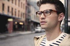 Whether your choice of eyewear is a basic necessity or peculiar statement accessory, here's what the average person is thinking when they see you in your glasses. Which is your style? Let us know in the comments section below.The Fitzgerald These round metal-rimmed glasses exude an air of intelligence that is hard matched by any other accessory. The simple frames and thin rim makes the round shape and Lennon-esque look of the glasses a little more understated. A man who wears a pair of…