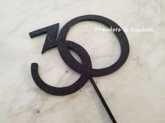 Cake written topper | 30 anni _ 30 years