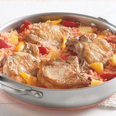 Aloha Pork Chop Skillet Recipe   Key Ingredient