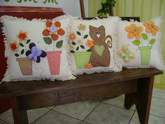 Cojines patchwork.