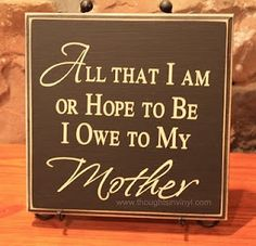 Absolutely!!❥ Happy Mother's Day!  I love you,  Thanks Mom <3