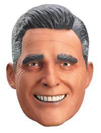 b31f0e70daaa 2018 Disguise Men's Mitt Romney Presidential Funny Party Vinyl Halloween  Costume Mask and more Funny Halloween Masks, Halloween Masks for