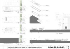 Premiados – Centro Cultural, de Eventos e Exposições – Nova Friburgo – RJ | concursosdeprojeto.org