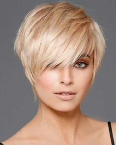 Messy hairstyles for short hair can be styled for red carpet or a simple house party. From messy ponytails to braids, from pixies to the options for unmatched # messy Hairstyles Most Popular Short Pixie Haircut For Women Short Hair Cuts For Women Pixie, Short Choppy Hair, Bob Hairstyles For Thick, Short Pixie Haircuts, Short Hair With Layers, Messy Hairstyles, Short Hair Styles Easy, Edgy Pixie Hair, Short Fine Hair