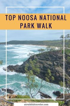 If you're visiting Noosa National Park in Queensland, Australia, make sure to take the Coastal Walk. This hike is filled with secluded beaches, amazing lookouts and wildlife! For highlights of the walk read on! Noosa Australia, Visit Australia, Australia Travel, Canada Travel, Travel Usa, Housing Jobs, Logan City, Australia Country, Secluded Beach