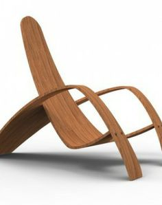 2012 Bent Plywood Lounge Chair Contemporary
