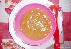 Broskyňová detská výživa Palak Paneer, Pudding, Ethnic Recipes, Desserts, Food, Tailgate Desserts, Deserts, Custard Pudding, Essen