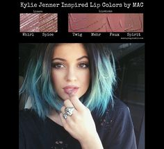 Kylie Jenner Inspired Lip Colors by MAC