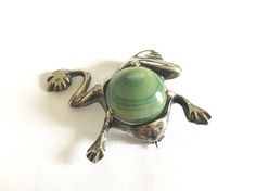 Vintage sterling made in Mexico Dancing or Leaping Frog Pin Vintage Gifts, Etsy Vintage, Vintage Items, Vintage Accessories, Vintage Jewelry, Vintage Brooches, Attic, Vintage Silver, Sterling Silver Jewelry