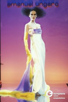 Emanuel Ungaro, Spring-Summer 1996, Couture on www.europeanafashion.eu