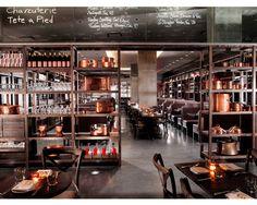 Best Restaurant Design // ELLE DECOR // DBGB Kitchen and Bar by Design Bureaux, Inc.