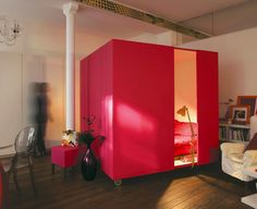 mobile bed cube! for studios