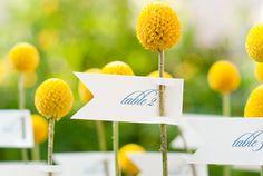 Ideas yellow wedding wedding ideas escort card inspiring ideas