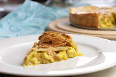 Hartige taart met kip, kerrie en appel – Koken met Anita Good Food, Yummy Food, Savory Tart, Happy Foods, Foodies, Delish, Chicken Recipes, Food Porn, Brunch