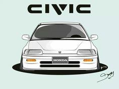 Honda civic Ef. Created by Simon ly (ninjastatus)