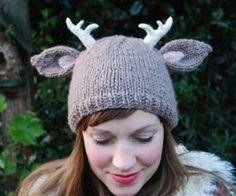 Deer Antlers Hat = sooo cute!