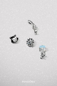 I have Jiminy Cricket Pandora Bracelets, Pandora Jewelry, Silver Hoop Earrings, Silver Jewelry, Disney Charm Bracelet, Pandora Charms Disney, Sewing Art, Disney Outfits, Jewelry Making