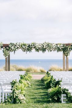 Elegant Terranea Resort wedding