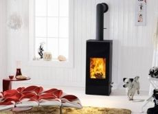 #Austroflamm Mono - Woodburning Stoves - by Austroflamm Wood Burning Stoves - Small but Mighty Solid