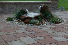 mossrock fountains | ... fountain rock pillar fountains 2010 barnstone pillar fountains