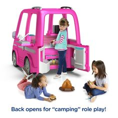 Power Wheels Barbie Dream Camper, Battery-Powered Ride-On Vehicle Barbie Camper, Barbie Toys, 90s Toys, Elliev Toys, Barbie Doll House, Lego Toys, Barbie Dream House, Disney Princess Toys, Little Girl Toys