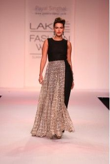 Payal Singhal Indian Wear Collection : SELMA Perhaps with sheer sleeves
