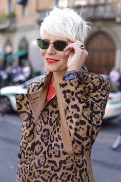 Thinking of going short-short again! super short pixie haircuts - platinum blonde