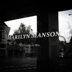 another glimpse from the past: one day we travelled to cologne to visit manson's art exhibtion. #marilynmanson