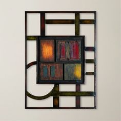 Modern Contemporary Abstract Metal Wall Art Sculpture For Elite Decor Enthusiast