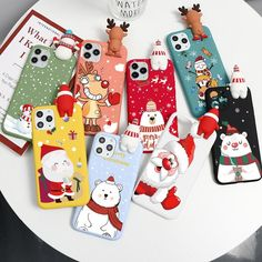 Case For iPhone 12 11 Pro 12Pro Max mini X XR XS Max SE 2020 Christmas Doll Cases For iPhone 7 8 6 6S Plus 7Plus 8Plus Cover Iphone 5s, Iphone 8 Plus, Iphone Cases, Mobile Phone Cases, Iphone Models, 6s Plus, Mini, Cover, Christmas