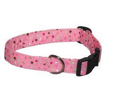 Elmo's Closet Sprinkles Dog Collar | PupLife Dog Supplies