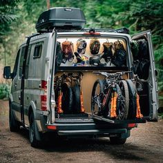Who wants this rig? Contact Then, use Your JAGZ App and find a lo, Mountain Bike Action, Mountain Biking, Vw Crafter Camper, Velo Dh, Bike Storage In Van, Bicicletas Cannondale, Iveco Daily 4x4, Cargo Trailer Camper Conversion, Best Mtb