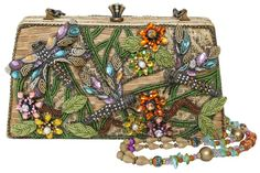 beaded bag with dragon flies - not quilted but I could make an exception (no longer available at site)