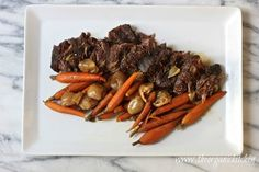 Slow Cooker Pot Roast from The Organic Kitchen