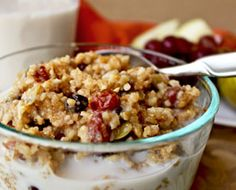 Steel Cut Oats & Amaranth Breakfast Cereal Steel Cut Oats, Amaranth, Pumpkin, Chia and Sunflower Seeds - Feel free to add Teff too Breakfast Cereal, Breakfast Dessert, Breakfast Recipes, Paleo Breakfast, Healthy Eating Recipes, Raw Food Recipes, Vegetarian Recipes, Cereal Recipes, Healthy Life