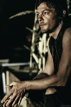 I think it's his arms...and his face...and the fact that he plays mother f*ckin Daryl Dixon.