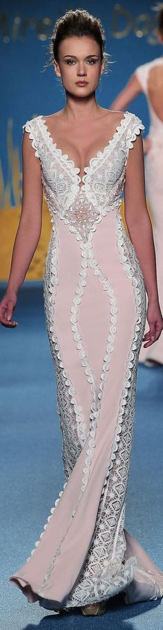 Mireille Dagher Couture S/S 2014 white