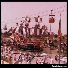 Retro Disneyland: A ride into the past (c/o Reminisce magazine)