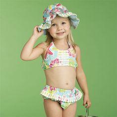 Lily Pad Bikini   Baby   Mud Pie