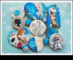 Disney Congelados Galletas de azúcar de caña A MEDIDA Galletas