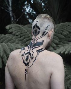 Masters Of Ink: Circuits And Nature Unite In Georgie Williams' Futuristic Tattoos