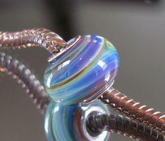 "Tangled Sky Glass ""Jupiter"" #1 Fully Sterling Silver Lined Lampwork Charm Bead  by TangledSkyGlass on Etsy https://www.etsy.com/uk/listing/254326184/tangled-sky-glass-jupiter-1-fully"