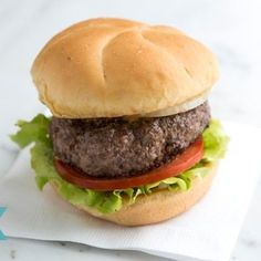 No Fuss Hamburger Recipe
