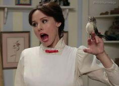 Kristen Bell is a Minimum-Wage Mary Poppins In This Funny Or Die Video