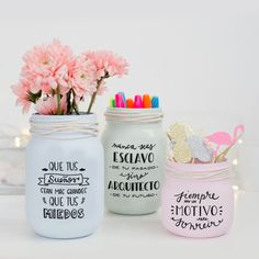 Home Crafts, Diy And Crafts, Silhouette Cameo Projects, Diy Organization, Home Deco, Decoupage, Sweet Home, Candles, Homemade
