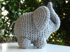 Elefantino amigurumi