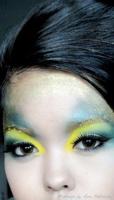guard makeup | creative makeup insane avant garde makeup makeupbyanapatricia