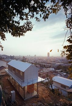 why digg?  tato architects/yo shimada: house in rokko