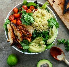 Salad with cuscus